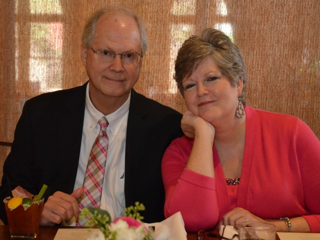 Lee Long with her husband Don Long the day of their daughter's wedding.