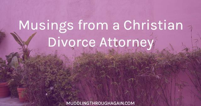A Divorce Attorney Walks Into a Bar | Muddling Through Together