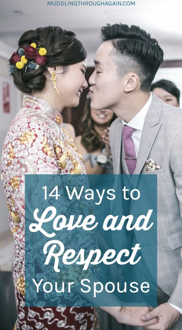 A healthy marriage is based on mutual love and respect. Follow these easy ideas to love and respect your spouse! #Christianity #strongmarriage