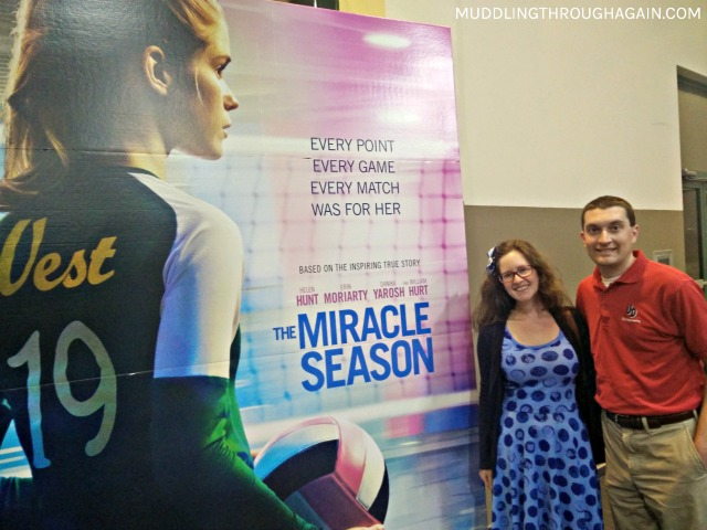 My husband and I attended an early screening of The Miracle Season. These are my thoughts.