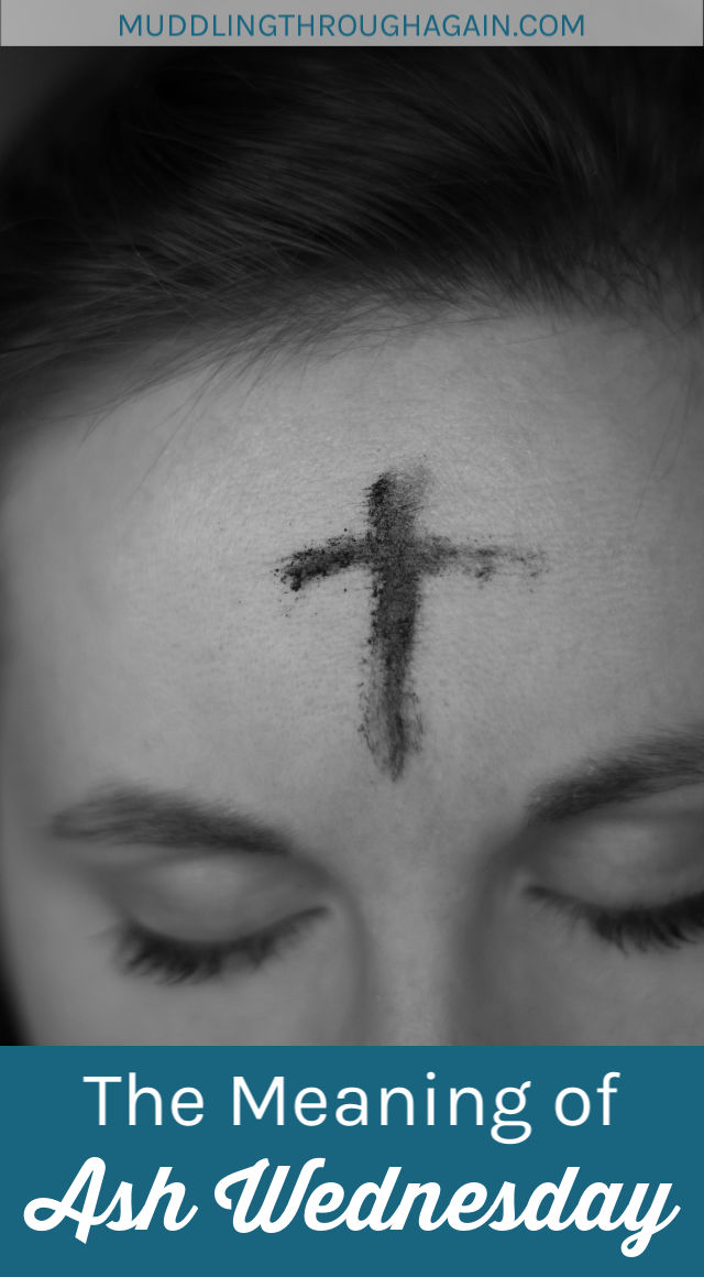 What is the meaning of Ash Wednesday? Why do some Christians walk around with ashes on their foreheads? A Catholic writer briefly explains the history of Ash Wednesday, the symbolism of Ash Wednesday, and why Ash Wednesday matters to her.